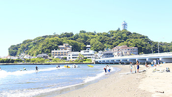 Enoshima and the Enoshima Electric Railway